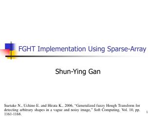 FGHT Implementation Using Sparse-Array