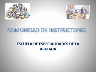 COMUNIDAD DE INSTRUCTORES