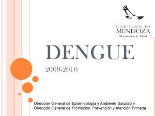 DENGUE 2009-2010