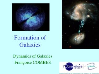 Formation of  Galaxies