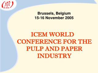 Brussels, Belgium 15-16 November 2005