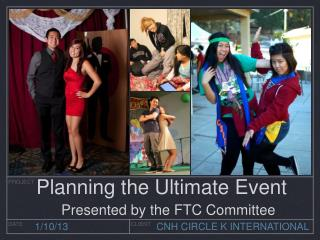 Planning the Ultimate Event