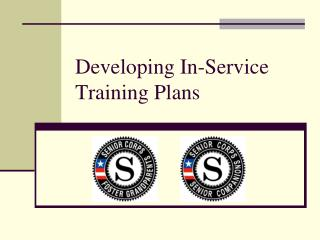 Developing In-Service Training Plans