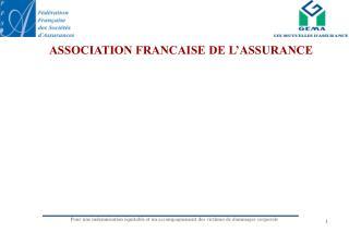 ASSOCIATION FRANCAISE DE L'ASSURANCE