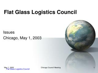 Flat Glass Logistics Council