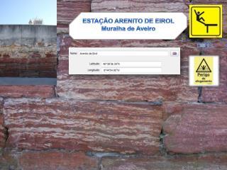 ESTAÇÃO ARENITO DE EIROL Muralha de Aveiro