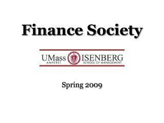 Finance Society