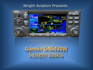 Garmin GNS430W