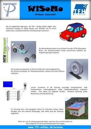 Ohne Verbrennungsmotor ist Platz für Elektronik und Energiespeicher.