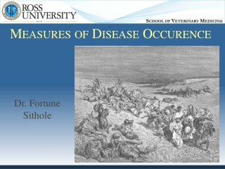 Measures of Disease Occurrence