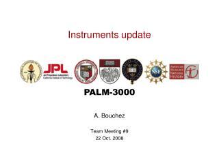 Instruments update
