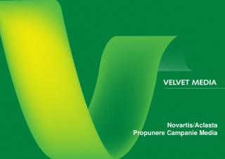 Novartis/Aclasta Propunere Campanie Media