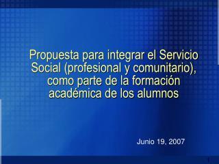 Junio 19, 2007