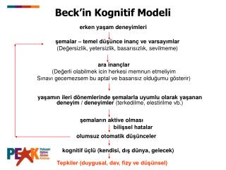 Beck�in Kognitif Modeli