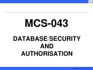 MCS-043