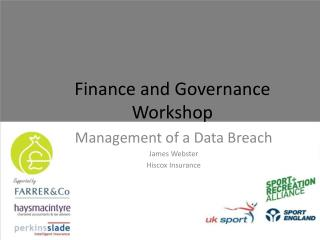 Finance and Governance Workshop