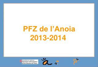 PFZ de l�Anoia 2013-2014