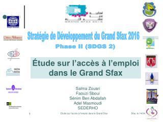 Étude sur l'accès à l'emploi dans le Grand Sfax