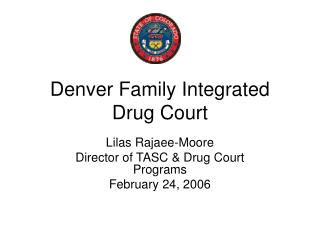 Denver Family Integrated Drug Court