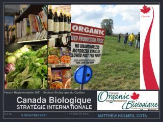 Canada Biologique