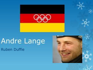 Andre Lange