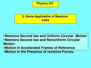 Physics 201