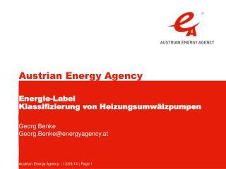 Energie-Label  Klassifizierung von Heizungsumw lzpumpen