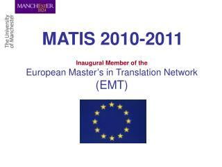 MATIS 2010-2011