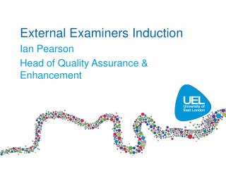 External Examiners Induction