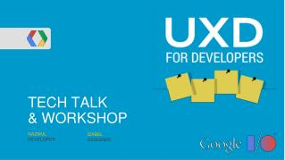 TECH TALK & WORKSHOP