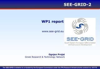 WP1 report