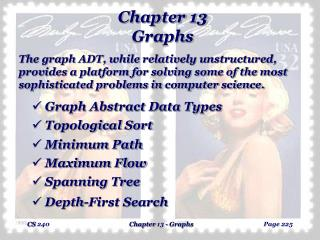 Chapter 13 Graphs