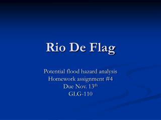 Rio De Flag
