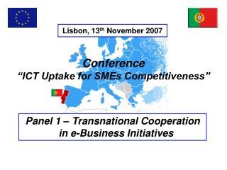 Lisbon, 13 th  November 2007