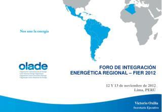 12 Y 13  de noviembre de 2012 Lima, PERÚ