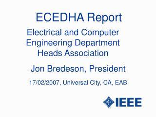 ECEDHA Report