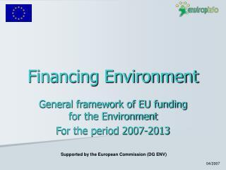Financing Environment