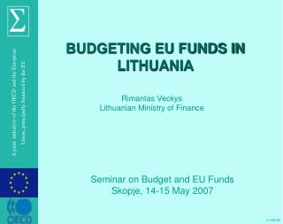 BUDGETING EU FUNDS IN LITHUANIA