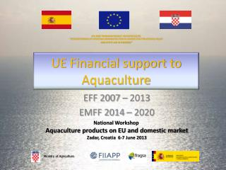 UE Financial support to Aquaculture