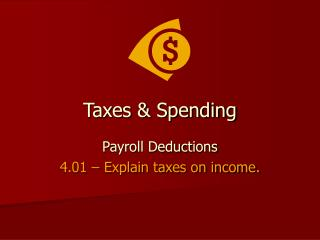 Taxes & Spending