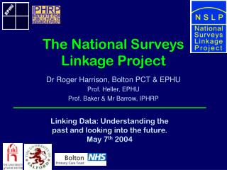The National Surveys Linkage Project