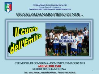 FIGC – Settore Giovanile e Scolastico Emilia Romagna – Educare Al Calcio dei Piccoli