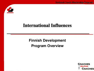 International Influences