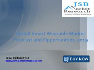 JSB Market Research: Global Smart Wearable Market