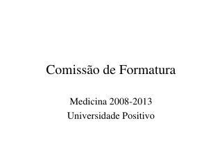 Comissão de Formatura