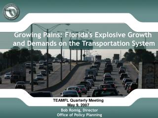 FDOT PowerPoint Example