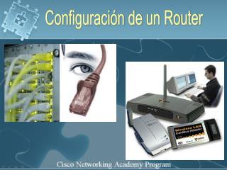 Configuraci�n de un Router