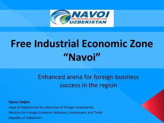 "Free Industrial Economic Zone ""Navoi"""