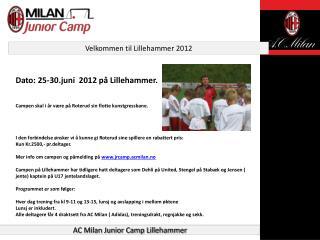 Velkommen til Lillehammer 2012