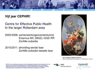 Vijf jaar CEPHIR! C entre for  E ffective  P ublic  H ealth  I n the larger  R otterdam area